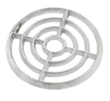 "Cast Alloy Aluminium Round Gully Grid Man Hole Grate Drain Cover 6"" 7"" 8"""