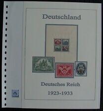 Deutsches Reich 1923 - 1933  Vordruck farbig TOP