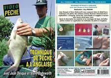 DVD Technique de pêche à l'anglaise Jean Desqué - Pêche au coup - Vidéo Pêche