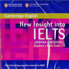 Cambridge English NEW INSIGHT INTO IELTS Student's Book AUDIO CD @NEW & SEALED