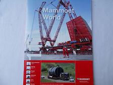 MAMMOET WORLD Nº 11 AÑO 2011 45 PÁGINAS
