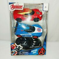 Marvel's Avengers Brand Friction Cars Set of 3 New Condition