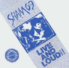 Sham 69 Live & Loud CD NEW SEALED Punk/Oi! Angels With Dirty Faces/Hersham Boys+