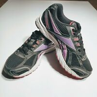 Reebok Women's Running Shoes Size 8 Black and Pink Sneakers Athletic 1AP501