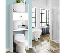 Bathroom Over-the-Toilet Toiletries Towel Storage Cabinet Cupboard Shelf Rack
