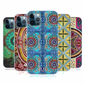 HEAD CASE DESIGNS ARABESQUE PATTERN SOFT GEL CASE FOR APPLE iPHONE PHONES