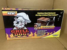 Grill Dog Stinless Steel Rotisserie Hot Dog And Linked Meat Cooker