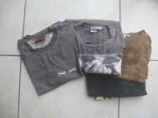 2 Tee shirts ML en coton + 2 gratuits Oxbow et Rip Curl 14-16 ans
