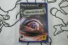 Manhunt 2 Survival horror Uncensored version Game for Sony PS2 Complete