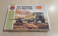 Airfix AEC Matador + 5.5 Inch Gun Series 1 H0/00 Brand New And Sealed