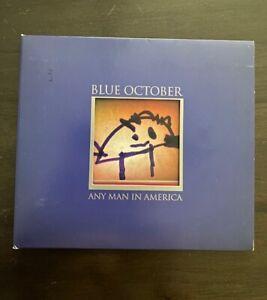 "BLUE OCTOBER ""ANY MAN IN AMERICA"" 2011  INSANE WEDNESDAY $5.00 STARTING BID!!"