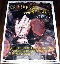 LA FiANCÉE DE DRACULA Jean Rollin Vampires Horreur monstres GRANDE AFFICHE