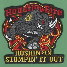 HOUSTON TEXAS FIRE DEPARTMENT STATION 5 COMPANY PATCH