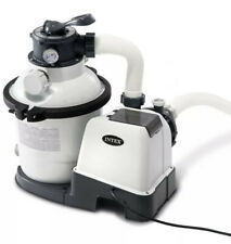 New listing Intex Krystal Clear Sand Filter Pump for Above Ground Pools, 10 Inch, 110-120V