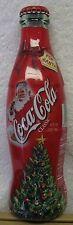 COCA-COLA Christmas 2002 FOR SANTA Bottle-Unopened w/sealed plastic shrink wrap