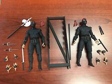 Neca Ninja Turtles Movie Foot Soldier Figures Loose Two Pack