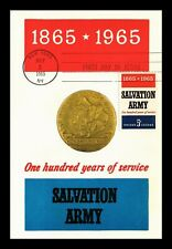 DR JIM STAMPS US SALVATION ARMY COLORANO FDC CONTINENTAL SIZE MAXIMUM CARD