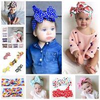 2Pcs Womens&Kids Girls Baby Headband Bow Flower Hair Band Accessories Headwear