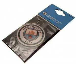 Manchester City Football Club Single Car Air Freshener Freshner Official MCFC