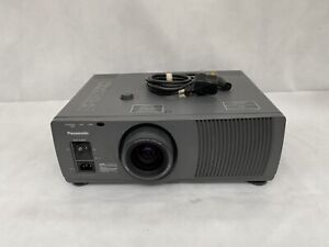 Panasonic LCD Projector Model No. PT-L592E Bulb Does Not Work