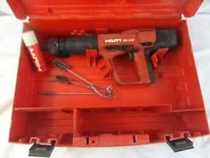Hilti DX A41 Power Actuated NAIL GUN, Concrete Nailer, Case