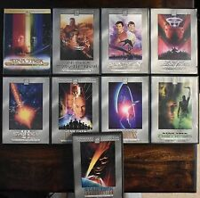 STAR TREK DIRECTOR/SPECIAL COLLECTORS EDITIONS DVD SET OF 9
