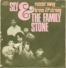 """SLY & THE FAMILY STONE """"RUNNIN' AWAY"""" FUNK SOUL 60'S SP EPIC 7810"""