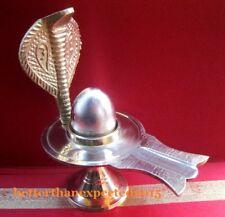 New listing Parad ShivaLingam / Shiva lingam of Pure Parad with Brass Yoni Base - 110 gm