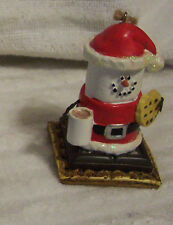 Midwest Of Cannon Falls S'mores Santa With Cocoa & Cookie Ornament