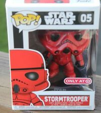 Funko Pop Star Wars RED STORM TROOPER ~~Target Red Card Holder EXCLUSIVE~~