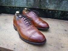 JOSEPH CHEANEY BROGUES – BROWN / TAN – UK 7 – RENOIR - EXCELLENT CONDITION