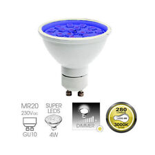 Easy Connect 4w GU10 Blue Dimmable LED Lamp Outdoor Garden Lighting System