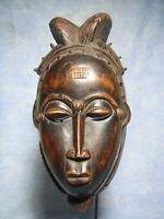 AFRICANTIC MASQUE BAOULE KPAN ART AFRICAIN ANCIEN STATUE AFRICAINE AFRICAN MASK