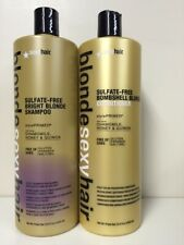 Sexy Hair Bright Blonde Bombshell  Shampoo/Conditioner 33. oz unisex
