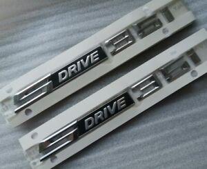 2x SDrive 35i s Drive 3.5i Letter 3D EMBLEM BADGE STICKER BMW  X1 X2 X3 Z4 35i