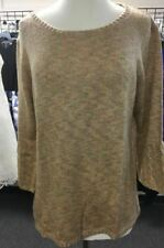 NY COLLECTION WOMENS SWEATER MULTI COLOR SIZE L MSRP$50.00