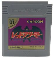 Nintendo Game Boy GB Makaimura Gaiden Gargoyles Quest Cartridge Only Japan Ver