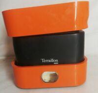 Ancienne balance Terraillon 4000 orange vintage, Décoration Collection