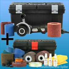 Eisenblätter Satiniermaschine Poly-PTX® 802 Schleifer Set Flex Metall Bürsten
