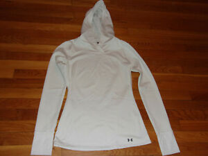 UNDER ARMOUR COLDGEAR FITTED HOODIE WOMENS MEDIUM EXCELLENT CONDITION