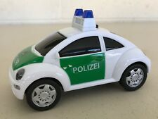 """Dickie Toys Polizei Police Car with Sound & Flashing Lights Volkswagen Bug 5.5"""""""