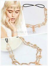 Gold Pearls Game Of Thrown Wedding Headdress Head Chain Headband Headpiece