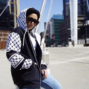 Palestinian Hatta Kuffiyeh Hoodie Jacket