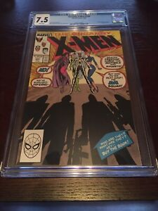Uncanny Xmen 244-1st Jubillee, White Pages,7.5 Cgc!