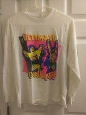VINTAGE 1990 WRESTLEMANIA VI 6 T SHIRT  Used Original WWE Wrestling WWF WWE