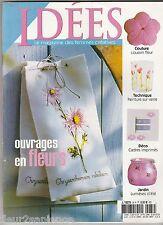 Idées Magazine N°34 Mai-juin 2002 Couture broderie tricot décoration