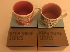 2 Mug Set: Orlando+ Florida Been There Series (BTS) 14 Ounce Starbucks Mugs