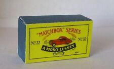 Repro box Matchbox 1:75 nº 32 Jaguar XK 140 Coupe china
