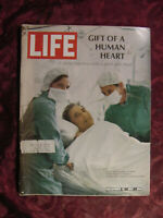 LIFE Magazine December 15 1967 Dec 12/15/67 HEART TRANSPLANTS Joseph Cornell