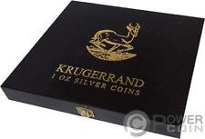WOODEN CASE Box Krugerrand 1 Oz Display 20 Coins Holder